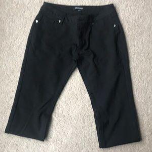 Shinestar Black Leggings size Large low rise